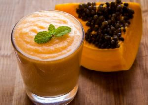 eliminar parasitos zumo de papaya