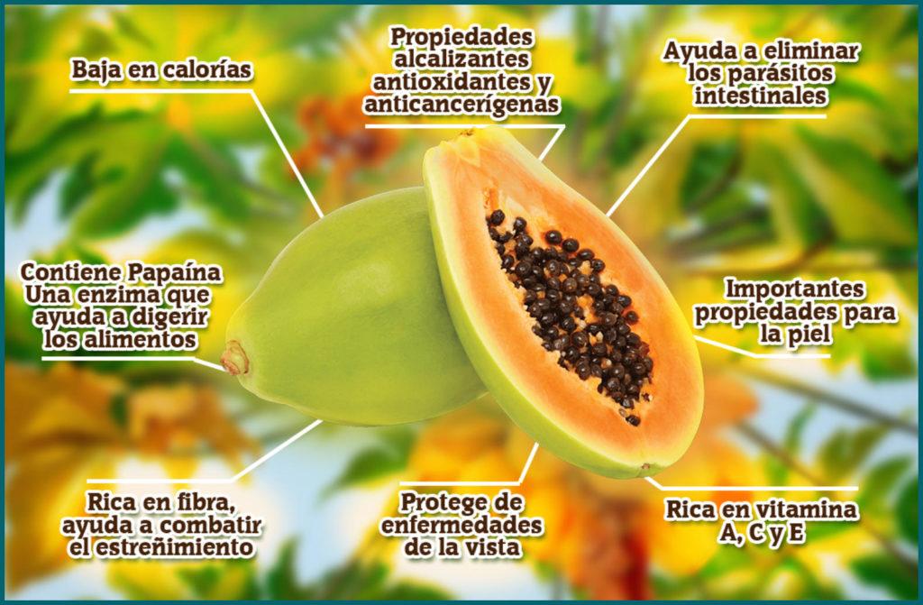 eliminar parasitos intestinales de forma natural papaya