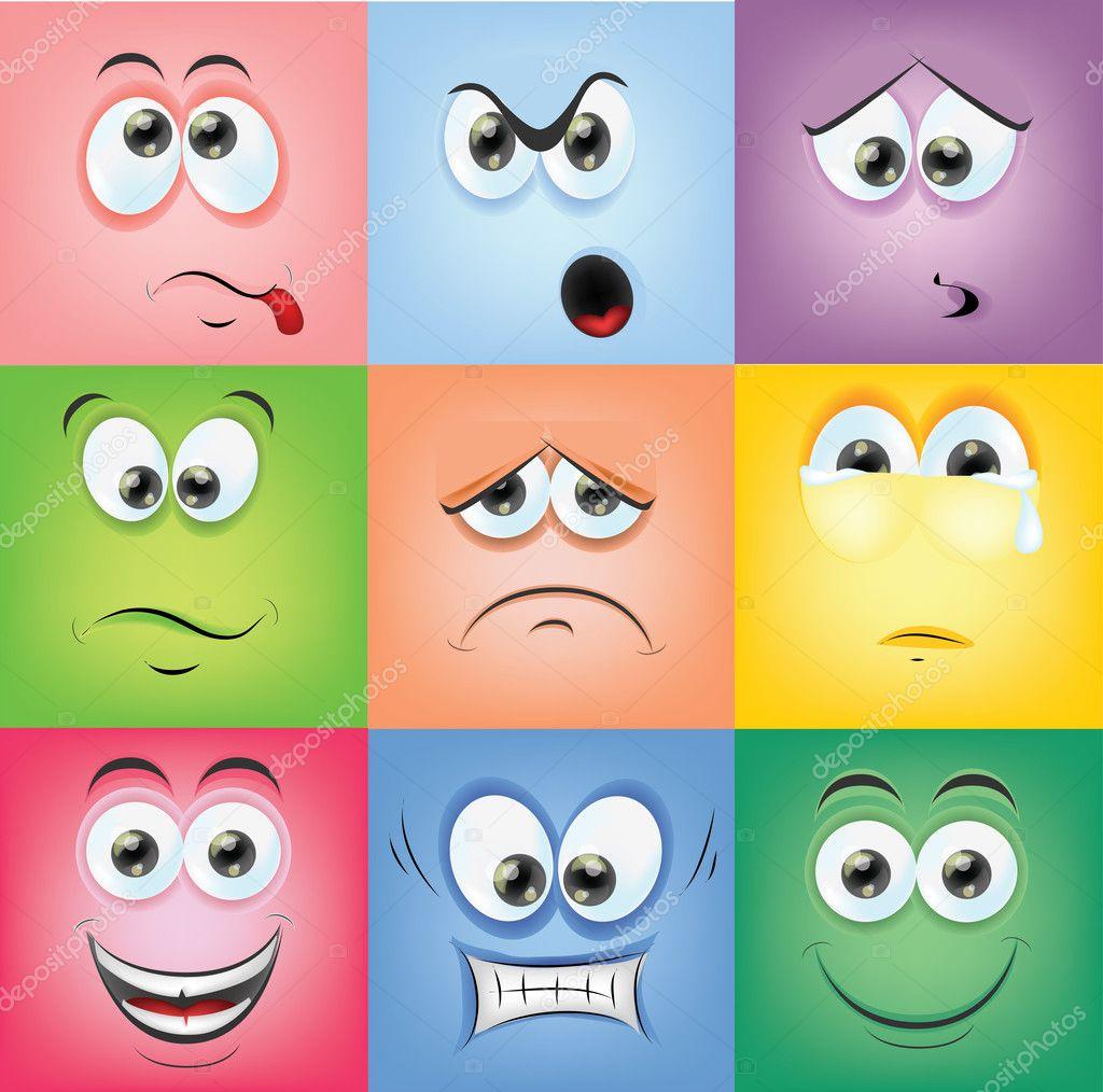 fichas para reconocer emociones