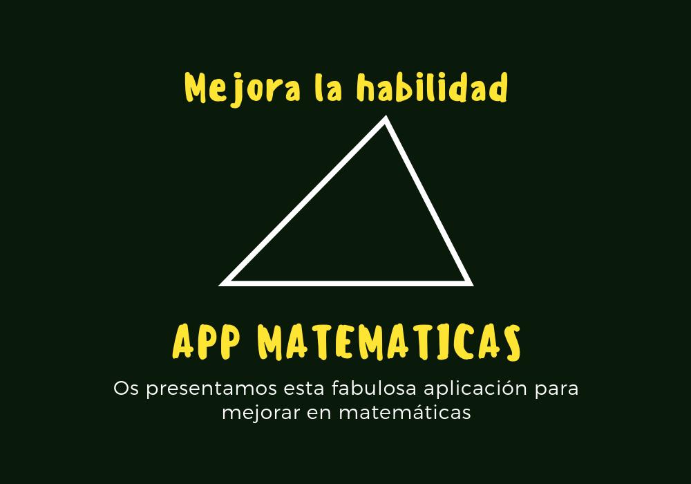 app de matematicas