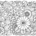 Dibujo-de-flores-para-colorear