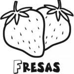dibujo-para-imprimir-y-colorear-de-fresas-dibujos-de-frutas