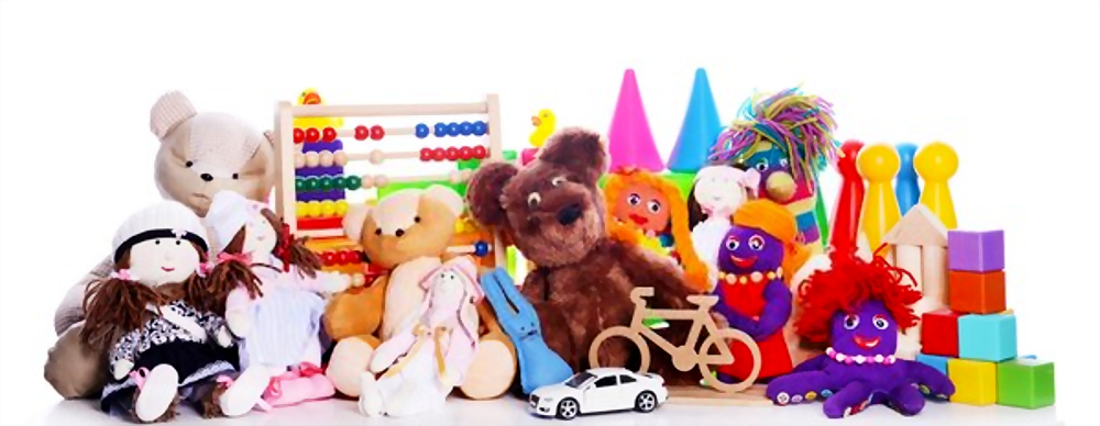 juguetes usados