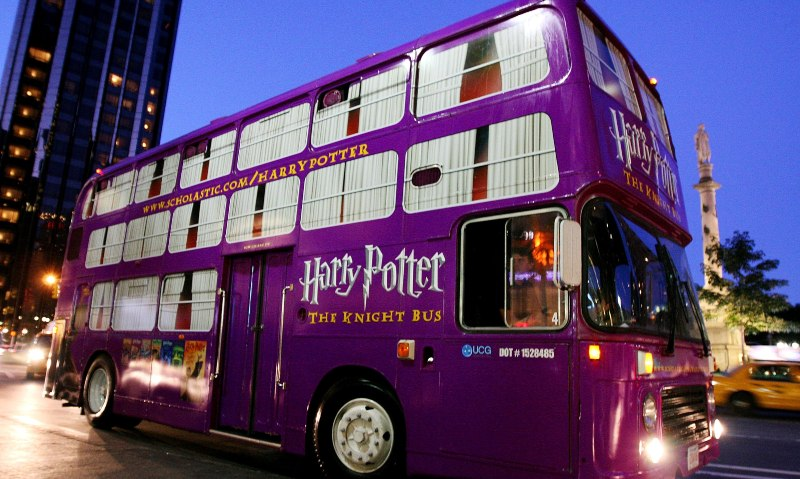 autobus harry potter londres