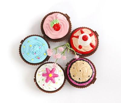 detalle de boda brillo labios cupcake