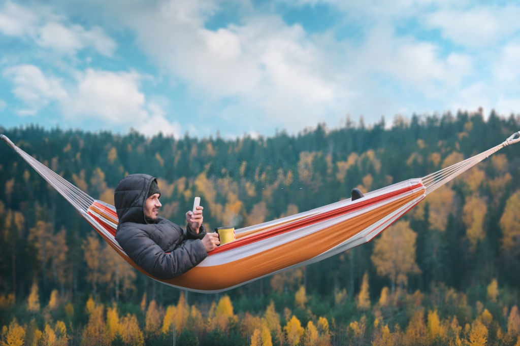 hamaca de camping