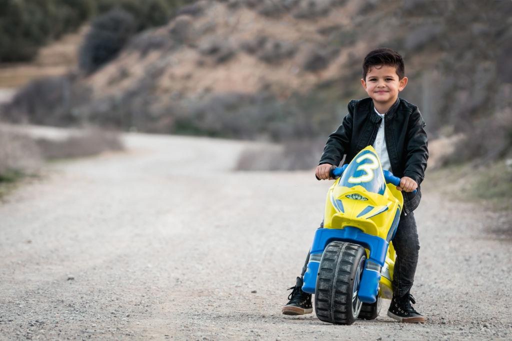 motocicleta electrica para niños